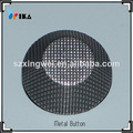 de perlas de metal complemento botón botón de metal de fábrica