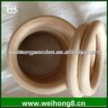anillos gimnasio portátil de madera