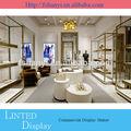 Decoración de lujo de tienda de zapatos/tienda de diseño de interiores