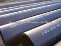 Tubo de acero negro de carbono ERW