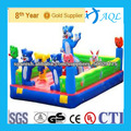 Funny giant inflatable bouncer castle for kids