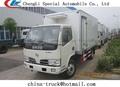 La furgoneta refrigerada, camiones refrigerados, caja seca del cuerpo del carro 95hp