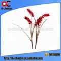 de alta calidad al por mayor de seda artificial orquídeas flores de una sola rama