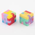Interwell ec26 de goma de borrar, de promoción de fantasía puzzle 3d en forma de borrador