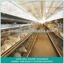 9lcdr-3168 galvanizado en caliente automático h- tipo de pollos de engorde jaula del pollo