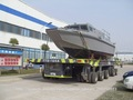 Aluminio de alta velocidad barco patrulla