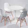 cores preto branco round chá tulip mesa de jantar de móveis para casa