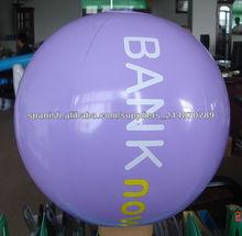 portátil pvc pelota de playa a la venta de la promoción / regalo inflable