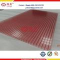 china un grado de pared doble hueco laminas de de policarbonato policarbonate 10mm
