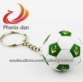 Llavero Copa Mundial de Fútbol, Llaveros mini balón de Fútbol de las selecciones nacionales,