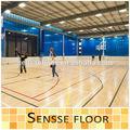 No- deslizamiento 4.5mm cancha de baloncesto cubierta de arce pisos de madera