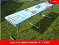 plegable al aire libre de la cerveza de mesa mesa de camping