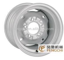 12 polegadas fabricante de rodas de aço forlawn e trator de jardim de alta qualidade
