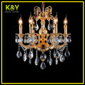 Chandelier decoración, lámparas de araña de cristal en forma de lágrima