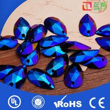 2014 nuevo diseño cristal ropa botón fábrica precio botón fabricante