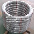 Ovalado de acero galvanizado de alambre/galvaninized oval alambre