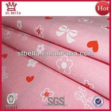 100% impreso de algodón tejido hilado teñido de tela cambray para la camisa