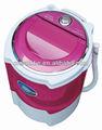 Solo 2.0kg bañera semi automática de la ropa mini lavadora