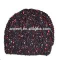 personalizado venta al por mayor de moda sombrero hecho punto