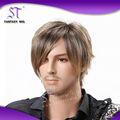 Cabelo Sintético perucas dos homens