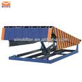 plataforma de carga y descarga para folklift