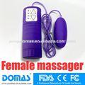 Produto do sexo mls-102 diodo emissor de luz 4- velocidade de vibração do sexo do brinquedo dedo massagem