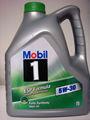 موبيل 1 esp الفورمولا 5w30 4 لتر زجاجة من البلاستيك