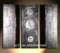 3 pcs painel moderna abstrata decoração simples pinturas abstratas