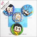 fabricante chino promotionalcustomized estaño botón insignia