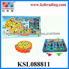 los niños juguetes de plástico eléctrica pesca