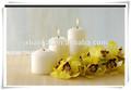 La cire de paraffine blanche bougie d'église/blanc, pillarcandle/religieuseprix blanc bougie votive