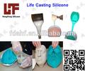 máscara de silicone moldes de silicone líquido