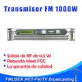 Nueva llegada de FSN-10000-1000W 1KW de potencia del transmisor de FM ajustable para FM Emisora de Radio City Radio Station-RC