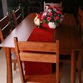 hermosa mesa de comedor
