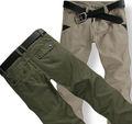 nuevo estilo de los pantalones de los hombres pantalones de algodón chino