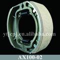 parte de repuesto del motor de zapatas de freno para ax100