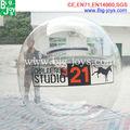 Agua bola burbuja caminata popular de la Caliente-venta , alquiler comercial inflable agua caminando pelota