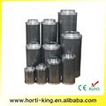 "8""/200mm de coco filtro portátil, peso ligero filtro poroso"
