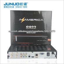 2013 New Azamerica S922 HD Nagra 3 receptor para Suramérica