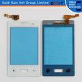 Fábrica precio de pantalla tactil para LG L3 Blanco Color