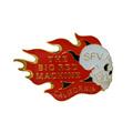 Personalizado, diseño de moda de alta calidad del metal de california de la solapa insignia de divisa