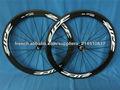 Roues ZIPP 404 de carbone, céramique Hubs disponibles roues de vélo de route, roues de vélo de 60mm.
