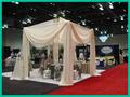 Venta caliente cortina tubería boda, tubo portátil y drapeado para la boda / evento, tubería utilizada y la caída, tubo barato y