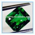 mística de color esmeralda corte esmeralda piedras preciosas sintéticas