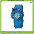 Reloj de la palmada de silicona regalo promocional