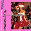 ML8012 Atractiva mujer de Santa vestido de traje de la Navidad Sweetie