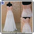 pp0133 frisado chiffon aniversário adulto branco vestido de festa para adultos