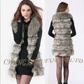 Cx-g-b-192 de la moda de piel de conejo ropa para mujer