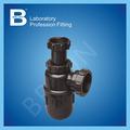 Venta caliente baratos trampa para equipos de laboratorio, tubería bajante de aguas para el fregadero