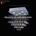 pequeño tamaño de la iluminación del hotel elegante diseño de la lámpara de cristal